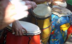 11.- Latin for Drummies – Hi hat independence playing Candombe in 3/4 on the Drum set